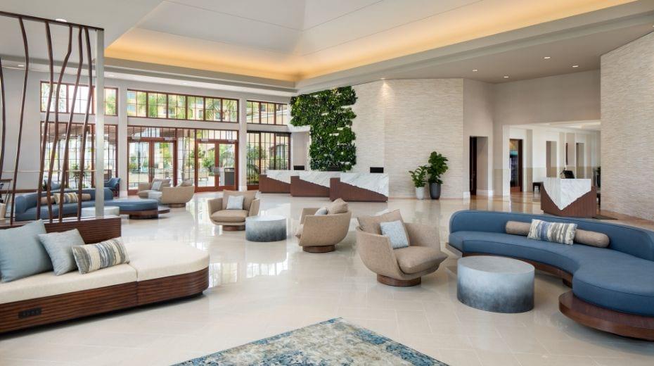 Westin Carlsbad Resort lobby
