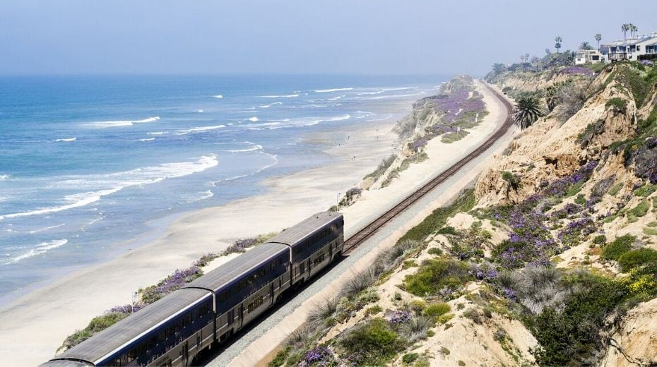 San Diego Coastline train