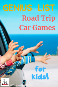 Genius List of Kids Games for Car Trips