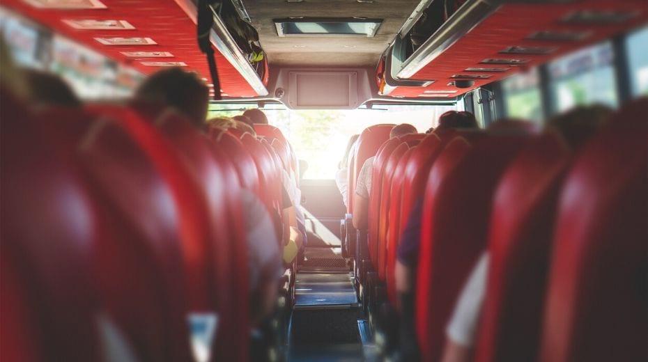 Inside bus Orlando