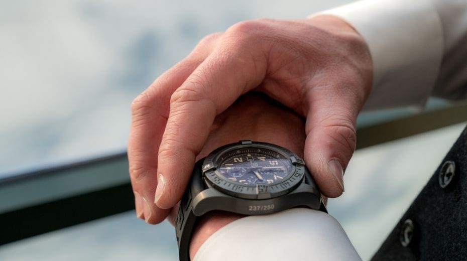 Men's watch on Travel