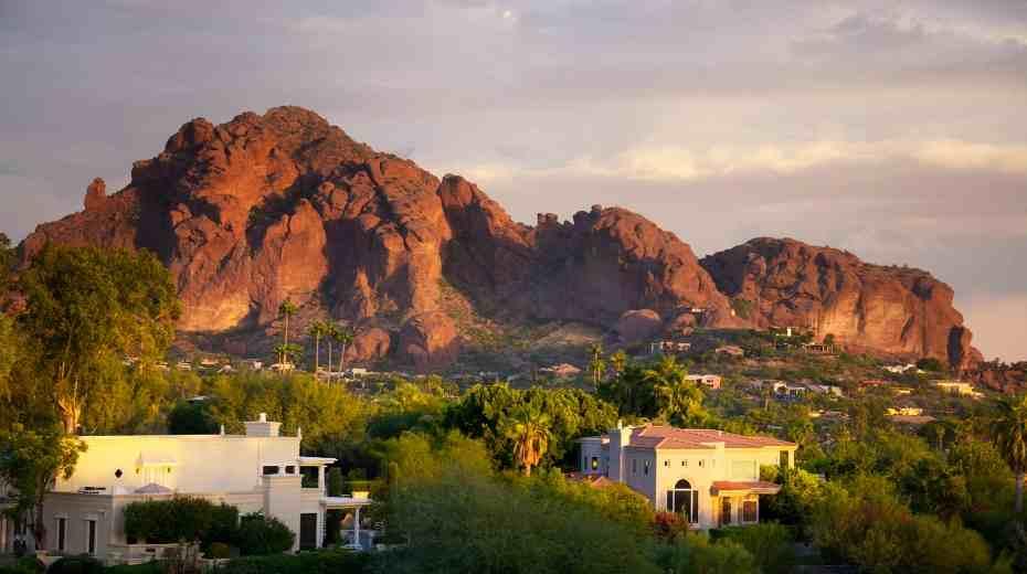 Scottsdale Arizona Camelback Mountain