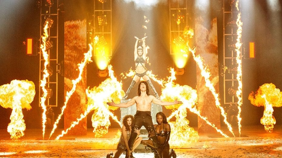 Criss Angel Mindfreak show