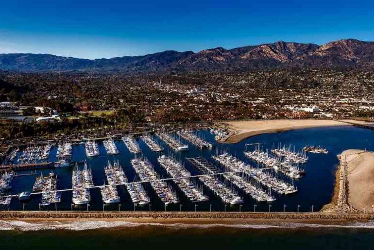 Beautiful seaside Santa Barbara glamping sites
