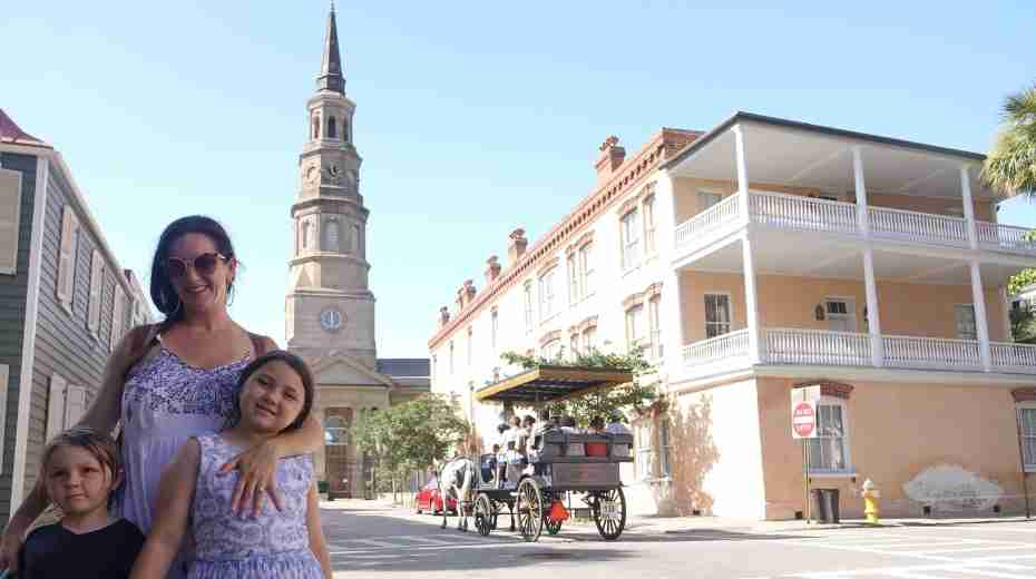 Unique things to do in Charleston South Carolina with kids